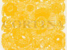 【全3色】marimekko(マリメッコ)KURJENPOLVI(クルイェンポルヴィ)生地(10cm単位で切り売り)【北欧生地・布切り売り】[M便 10/150]【楽天市場】