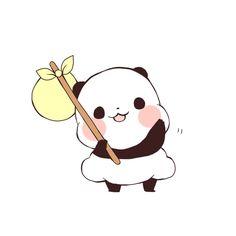 I can't wait for that day to come! Panda Love, Cute Panda, Panda Wallpapers, Cute Wallpapers, Panda Baby Showers, Panda Illustration, Panda Funny, Chibi Cat, Panda Art