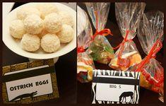 animal safari / jungle party food idea