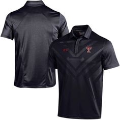 hot sale online 36e3d 6e615 College Texas Tech Red Raiders Under Armour Coaches Sideline Scout Polo -  Black Utah Utes,