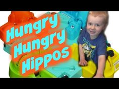 Playing Hungry Hungry Hippos - YouTube