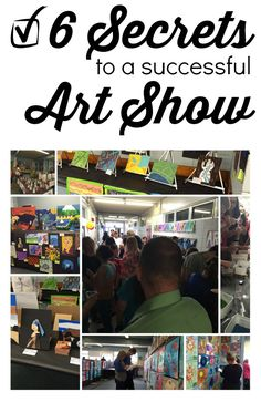 6 Secrets to a Successful Art Show  Use these tips to help you create an art night to sow off student work and dazzle the parents. Art shows are a great way to display work and give students a feel for what it is like to display work in an art gallery.