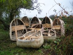 A fishing coracle used specifically on rivers with small rapids. (Used in the albino village) #ATime2Die #NadineBrandes