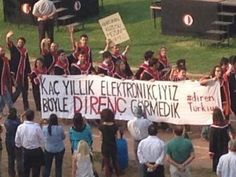 """2013 Graduation Ceremony of Middle East Technical University/Ankara/Turkey: """"We studied electronics for years, never saw such a resistance"""" #resistTurkey"""