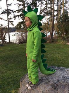 Dinosaur Halloween Kostüm grün Dino Kinder Kostüm von BooBahBlue
