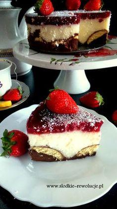 Bardzo szybkie i proste w wykonaniu ptasie mleczko bez pieczenia. Zbliżają się ciepłe dni więc wszystkie desery nie wymagające włączania ... Unique Desserts, Unique Recipes, Just Desserts, Sweet Recipes, Delicious Desserts, Cake Recipes, Dessert Recipes, Polish Desserts, Polish Recipes