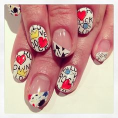 Graffiti art nails #avarice #art #kayo #design #nails #nailart #nailsalon #nailsalonavarice #graffiti (NailSalon AVARICE)
