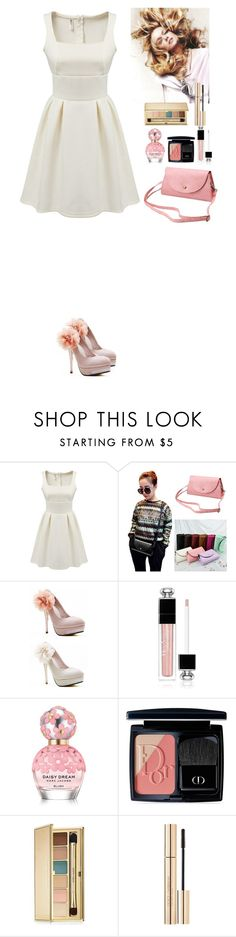 """""""Event TOMTOP"""" by eliza-redkina ❤ liked on Polyvore featuring Christian Dior, Marc Jacobs, Estée Lauder and Dolce&Gabbana"""