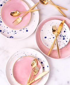 Summer tableware as perfectly dreamy as your summer dinner parties  In stock and ready to ship!