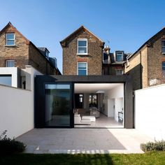 House in Homefield Road by Alex Findlater #pin_it #architeture #arquitetura @mundodascasas www.mundodascasas.com.br