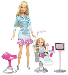 Barbie I Can Be Dentist Playset Barbie https://www.amazon.com/dp/B002MUAO7U/ref=cm_sw_r_pi_dp_x_UPHZzb9CGHP9X