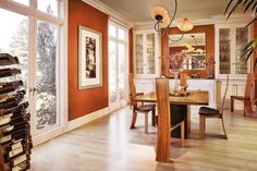 Dining Room in Sonoma Home - contemporary - dining room - san francisco - ADEENI DESIGN GROUP