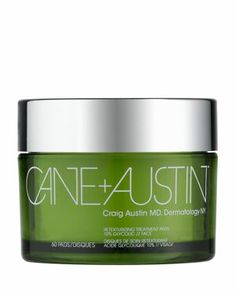 If you have dry patches, are prone to acne or have some small acne scars - use Cane + Austin. I use them 3 times a week and noticed a difference after just one use!