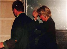 Princess Diana before the crash.