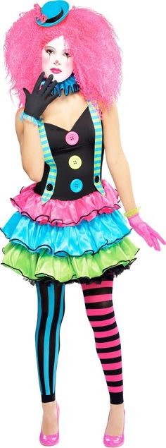 Mega Fancy Dress is one of the UK's leading retailers offering you the highest quality, officially licenced products at the lowest prices around. Come inside for World Book Day Costumes, Hippie Chicks and more! Toddler Girl Halloween, Halloween Costumes For Girls, Girl Costumes, Adult Costumes, Halloween Halloween, Clown Costume Women, Circus Costume, Costumes For Women, Circus Outfits