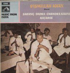 Bismillah Khan Shehnai Bollywood Vinyl LP
