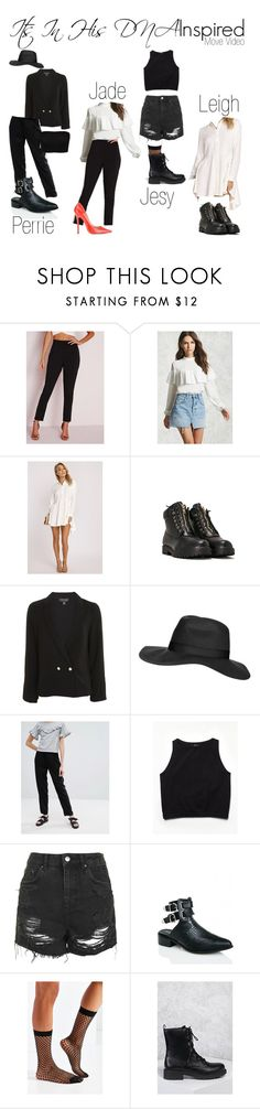 """Little Mix Move Music Video Inspired"" by katiehorror ❤ liked on Polyvore featuring Missguided, Forever 21, Nasty Gal, Topshop, Monki, Free People, Public Desire and Out From Under"