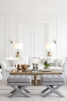 Decorate with White in the living room Eichholtz Supplier | Claire Hammond Interiors