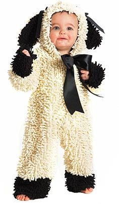 Wooly Lamb Costume - Baby 6-12