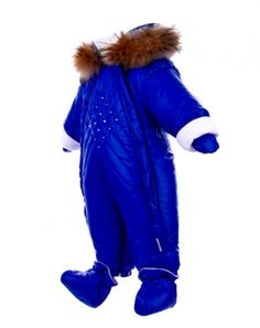 "Pilguni Fall Winter 2015 #Pilguni #kidswear #girl #aw15 #winter #style #fashionkids Jumpsuit transformer ""SUPERLUCIDO"" #cornflover (#blue)"