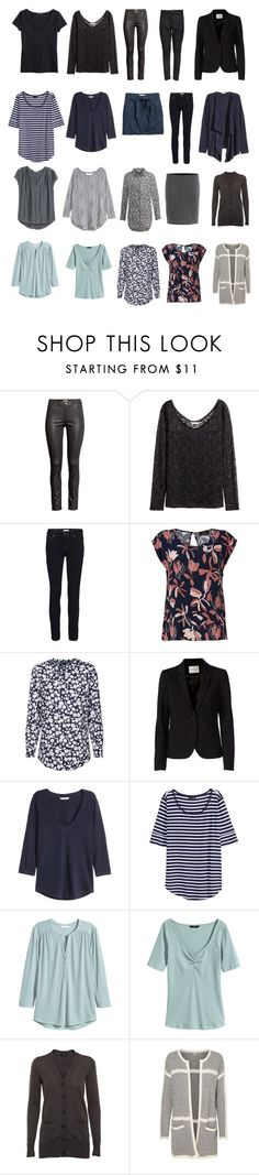 """Capsule wardrobe"" by lone-haure-norrevang on Polyvore featuring FiveUnits, H&M, VILA and Noisy May"