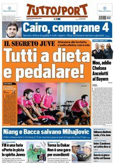 Rassegna stampa Italia: la Roma aspetta Conte, Ancelotti al Bayern - http://www.maidirecalcio.com/2015/12/18/rassegna-stampa-italia-19.html