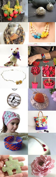 Beautiful Springs findings by Natasha Coulter on Etsy--Pinned with TreasuryPin.com
