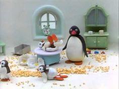 Pingu The Babysitter - YouTube