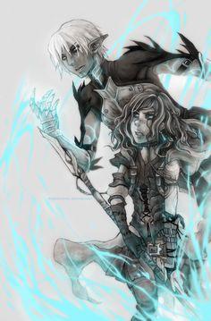 Dragon Age II: Spell by Hanesihiko.deviantart.com