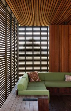 Accent walls. Clevedon Estate by Herbst Architects