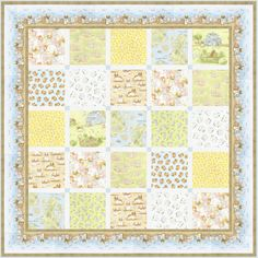 Cotton Tale Farm - Farm Friends Squared Free Quilt Pattern