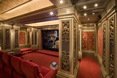 These people do Amazing work with Home Theaters. ♥