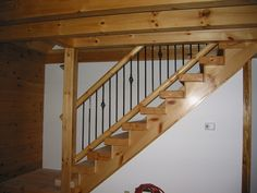 How to Transform Your Basement into a Movie Theatre - Attic Basement Ideas Metal Stair Railing, Staircase Railings, Banisters, Staircases, Basement Stairway, Basement Movie Room, Building Shelves, Stair Walls, Painted Stairs