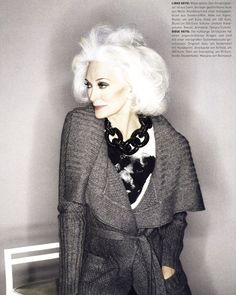 The brand message on Carmen dell'Orefice's spring/summer 2009 Rolex  campaign sums up the inspiring model's contribution to female identity:  Class Is Forever.  While the fashion word celebrates CARMEN: A Life in Fashion at London's  Fashion Space Gallery: London College of Fashion in an exhibit running unti  January 14, 2012, the 80-year-model is quick to explain that she is a  working girl for a reason.  Within this context, Carmen's 'Class Is Forever' Rolex message truly  resonates…