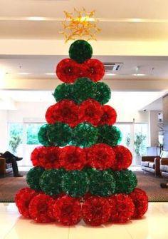 PET bottle Christmas Tree
