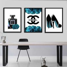 Fashion illustration print/Fashion Wall Art/Perfume Combo Print/Beauty art/Fashion Set/Blue Wall Art/Glamor Illustration print/Style Fashion Wall Art, Fashion Prints, As You Like, Just In Case, Frame Download, International Paper Sizes, Etsy App, Beauty Art, Blue Walls