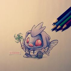 itsbirdy pokemon drawings | ... in Venomoth onesie by itsbirdy | Pokemon Drawings and Sketche