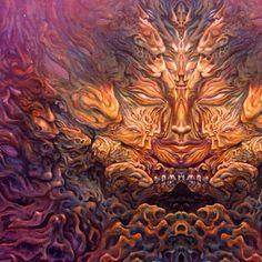 Anthropomorph Earth ...2004 oil on canvas