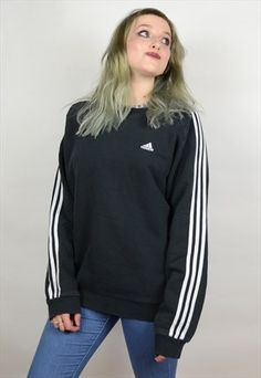 f514084a2acba0 BRANDED VINTAGE SWEATER Style Outfits, Vintage Sweaters, Adidas Jacket, Tommy  Hilfiger, Grunge