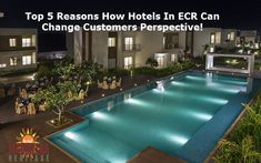 If yes, Here you will come to know strong and legit reasons how hotels in ECR can change customer perspective. Heritage Hotel, Us Beaches, Beach Resorts, Perspective, Change, Canning, Luxury, Outdoor Decor, Modern
