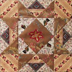 Civil War Quilts: Threads of Memory 9: Lancaster Star for Deborah Simmons Coates