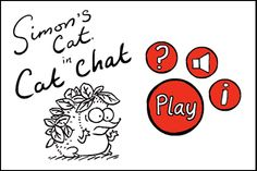 Website with short wordless films of 1-4 minutes in length that are great for narrative development and non-verbal cue interpretation.  Can also search the Simon's Cat channel on YouTube to get the videos.