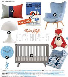 Stuff for boy's nursery