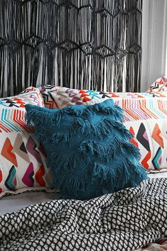 Magical Thinking Tufted Zigzag Pillow - Urban Outfitters