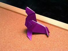 Daily Origami: 430 - Fur Seal