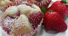 Najlepšie hrnčekové muffiny s jahodami a tvarohom. Rýchly recept z dielne kuchyne portálu Ženy v meste sa oplatí vyskúšať, lebo naše muffiny chutia úžasne. Krabi, Strawberry, Fruit, Breakfast, Nova, Basket, Morning Coffee, Strawberry Fruit, Strawberries