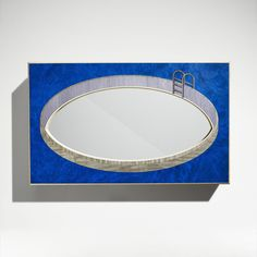 Perspective Swimming Pool Mirror from Linley Home Accessories, London. Perfect for Art on the wall!