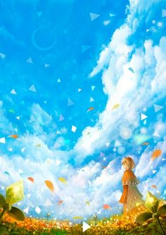 Find images and videos about art, anime and sky on We Heart It - the app to get lost in what you love. Anime Art Girl, Manga Art, Animation, Sky Art, Anime Scenery, Funny Art, Storyboard, Love Art, Amazing Art