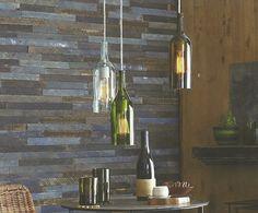 DIY Lighting Using Wine Bottles!