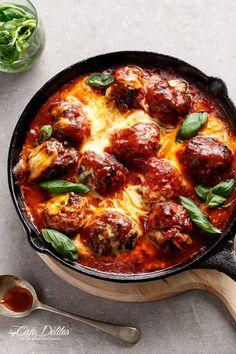 Sun Dried Tomato Cheesy Meatballs